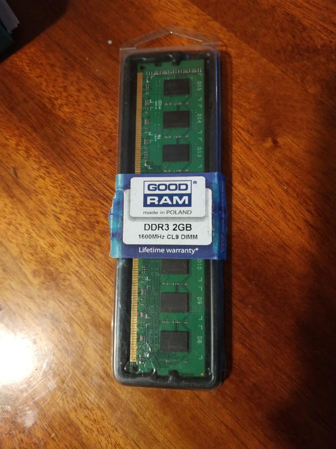 Оперативная память Ddr3 2gb Goodram Gr1600d364l9/2g