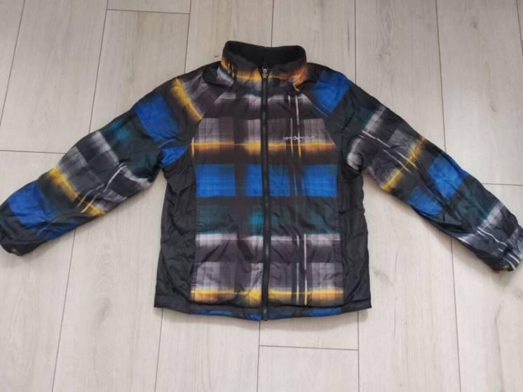 Двухсторонняя куртка на 134-140