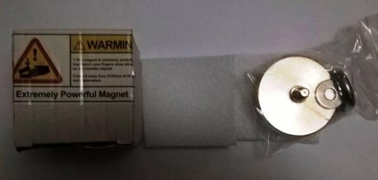 Неодимовий магніт D60mm 150кг ( неодимовый магнит )