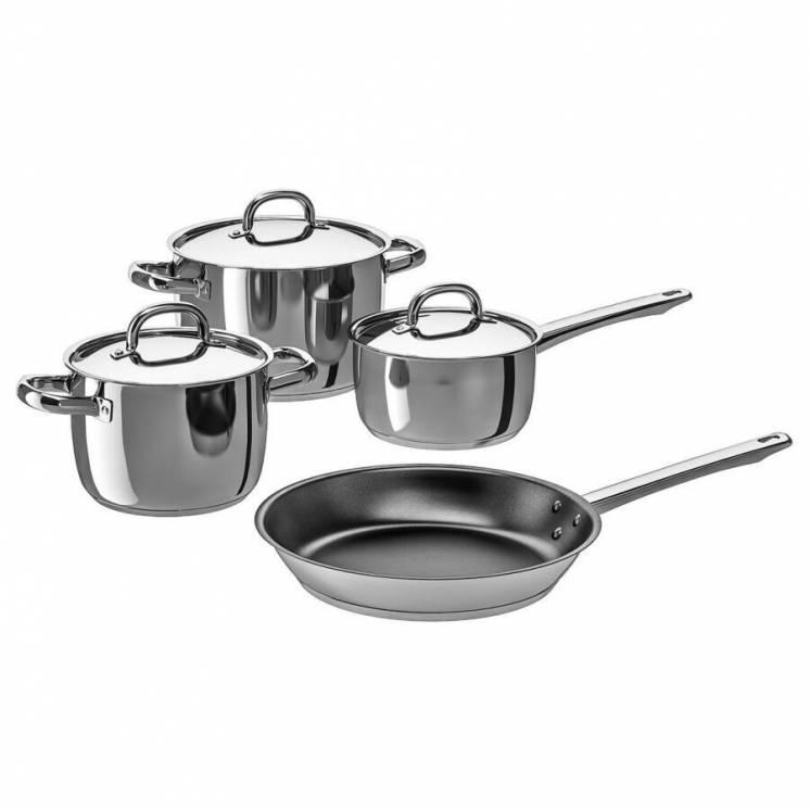 Набор кухонной посуды 4 предмета нерж