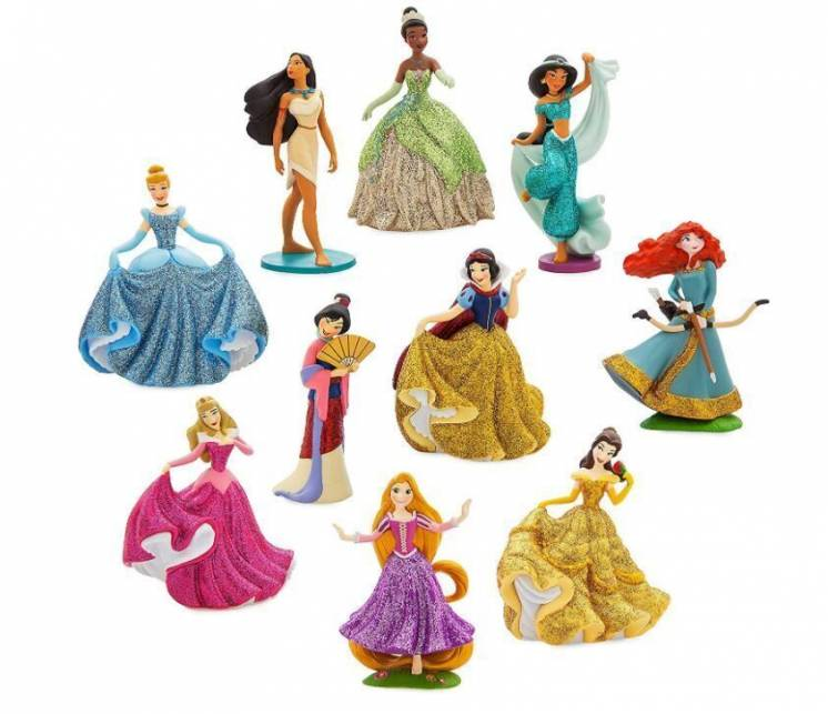 Набор фигурок принцессы диснея. Disney