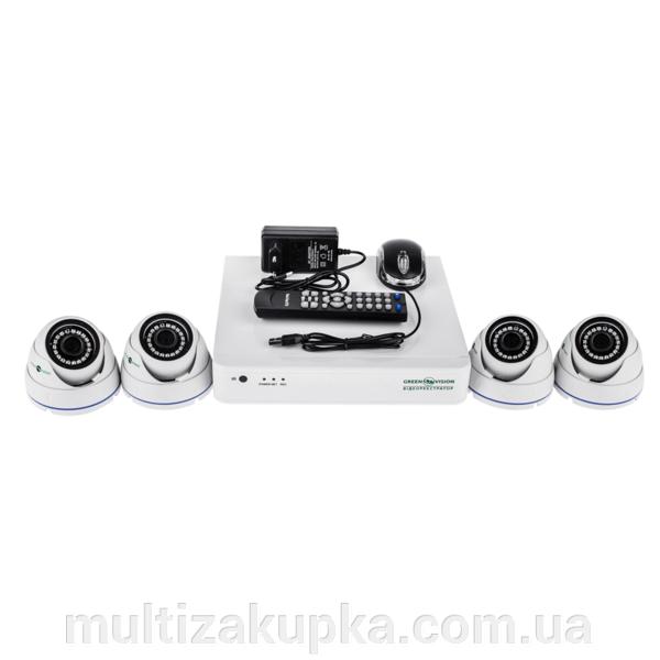 Комплект видеонаблюдения Gv-k-s13/04 1080p