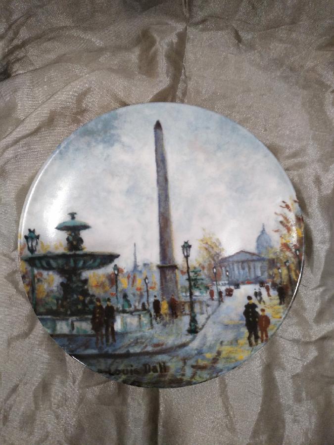 Коллекционная тарелка Limoges