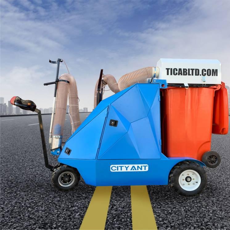 Дорожный пылесос вакумно уборочная машина City Ant TICAB