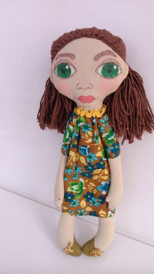 Новая кукла ручной работы. 28 сантиметров. в единственном экземпляре.