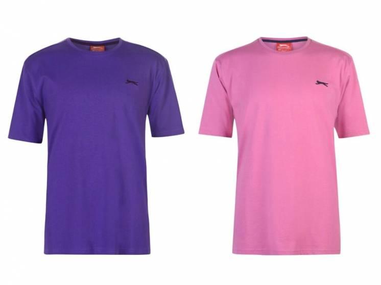 Slazenger футболка Plain T Shirt Mens англия оригинал.