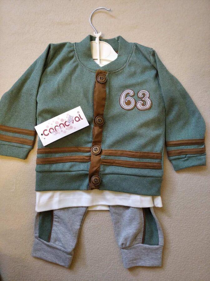 Продам новый турецкий детский костюм 3в1 на 12-18 месяцев на рост 80см