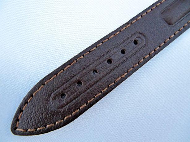 Кожаный ремешок (Польша) для часов 18 мм,новый,из цельного куска кожи