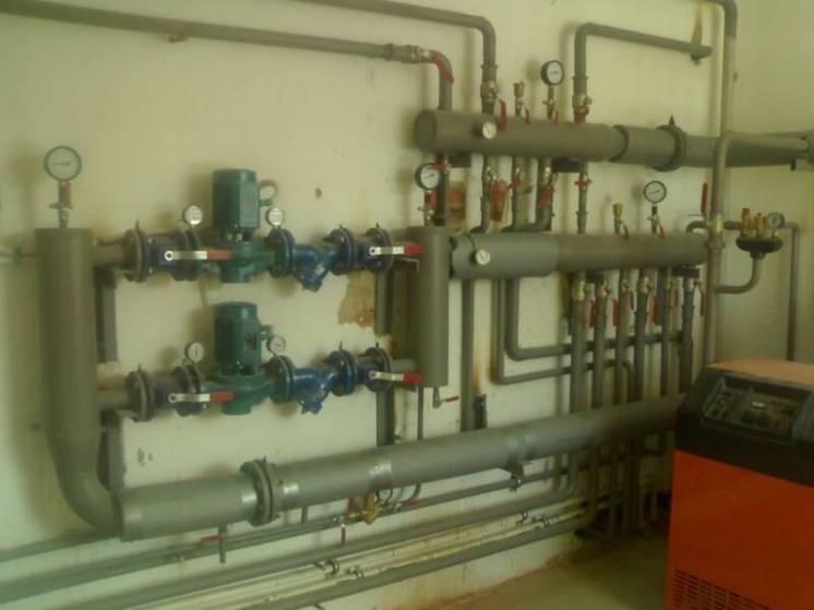 Обвязка и установка котлов в Херсоне. Отопление. Сантехработы