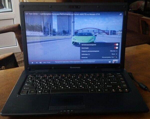 Игровой ноутбук Lenovo G460 (в идеальном состоянии).