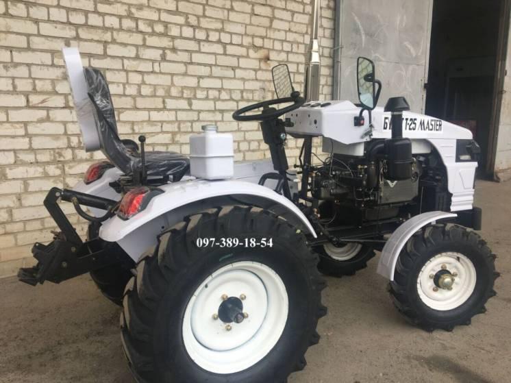 Трактор Булат Т-25 MASTER +фреза 140+2к плуг,Міні трактор,Доставка.