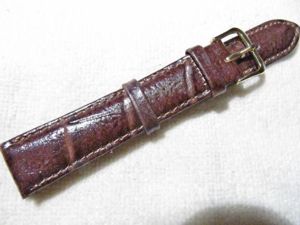 Ремешок кожаный для часов 18 мм, изготовлено в Польше, новый