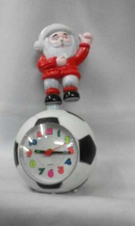 "Санта Клаус на мяче"" будильник кварцевый"