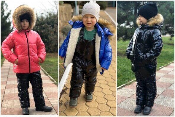 Зимний детский костюм 764 (р.98-122)