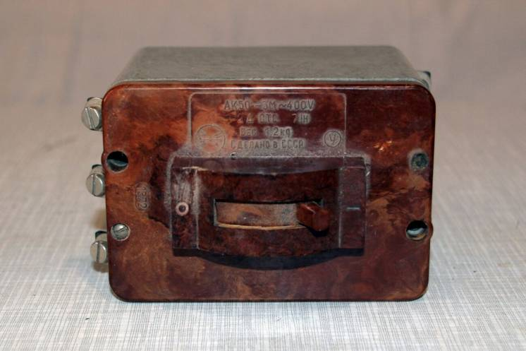Автоматический выключатель АК 50-3М~400В