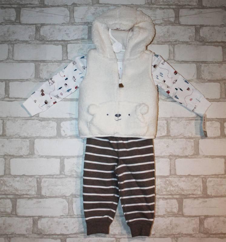 Теплый костюм для мальчка carters, 9 месяцев