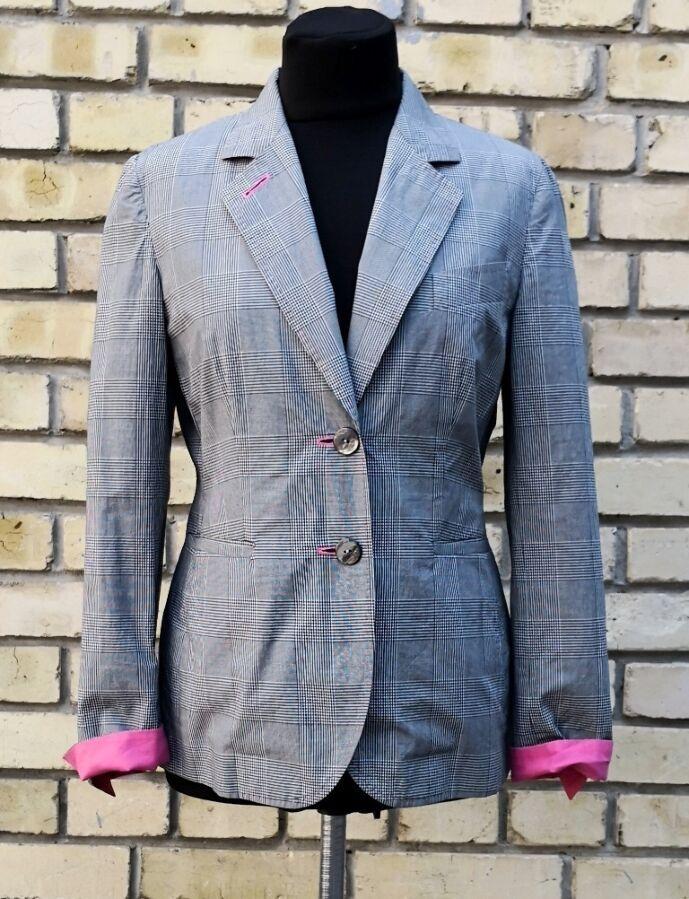 Легкий пиджак Moschino Cheap And Chic, оригинал, без подкладки, хлопок