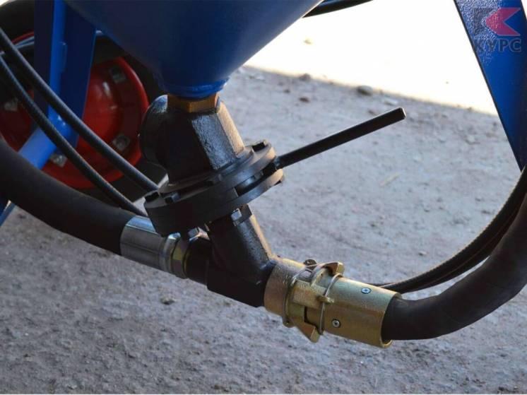 Дозатор в сборе для пескоструйного аппарата АСО - 150