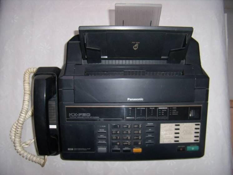 Телефон-факс Panasonic KX-F50, б/у, продажа, обмен