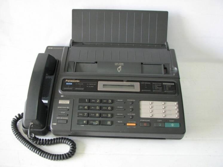 Телефон-факс Panasonic KX-F130BX, б/у, продажа, обмен