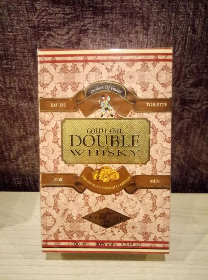 Парфюмированная вода Double Whisky Gold Label Evaflor