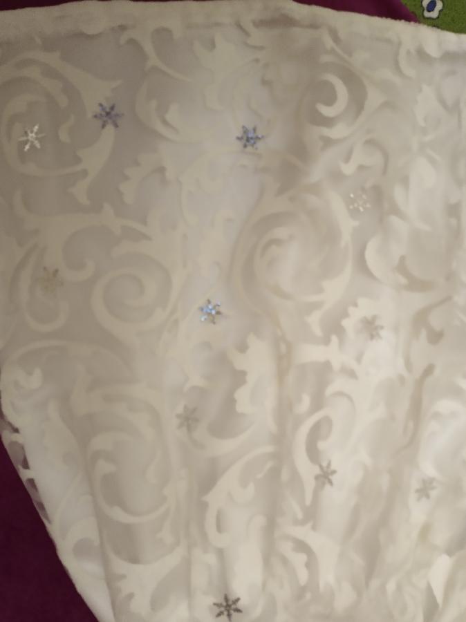 платье снежинка зима снежная королева