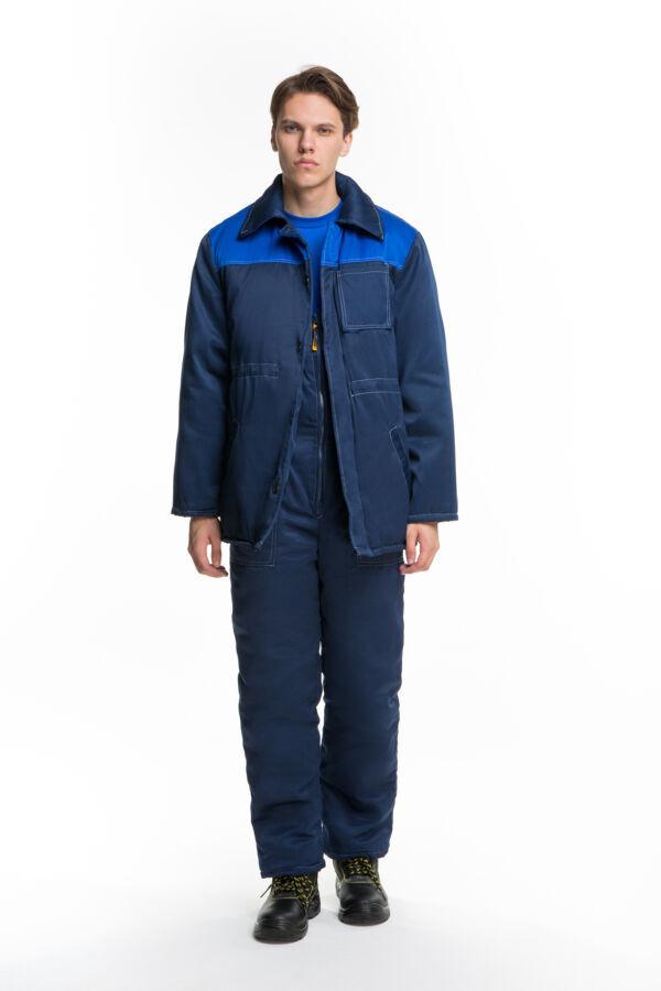 Костюм утепленный рабочий с штанами,теплый,грета