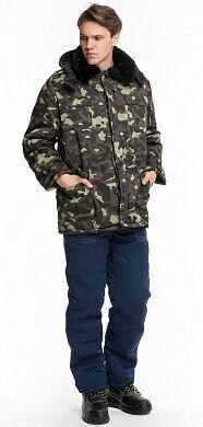 Куртка утепленная камуфляж,теплая,рабочая,зимняя