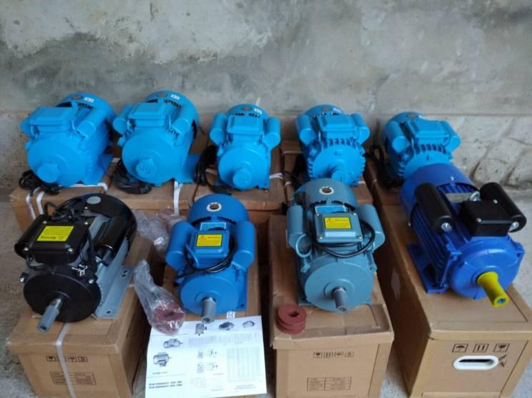 Электродвигатель однофазный 3 квт, или 4 квт 3000-1500 об/мин 220В