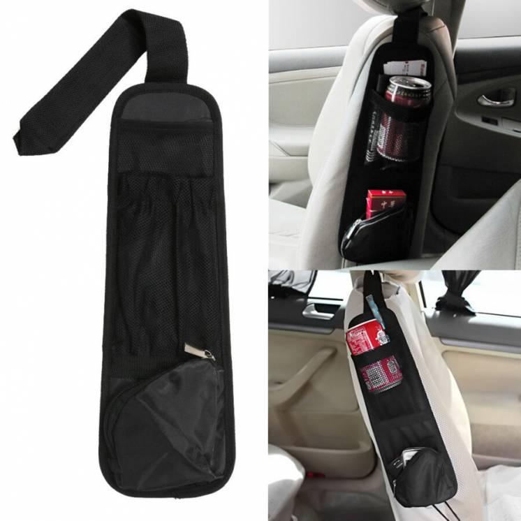 Бокова кишенька на сідушку в авто
