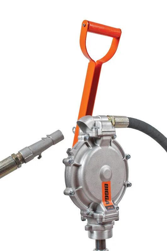 Bigga DFP-60 - Ручной двухдиафрагменный насос для перекачки топлива