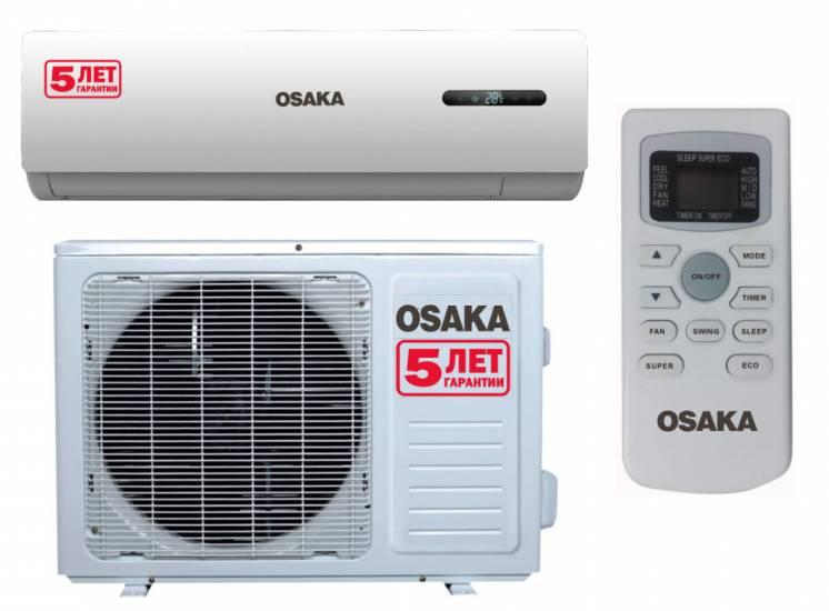 Кондиционеры OSAKA Продажа Установка Гарантия 5 лет. Супер цена!