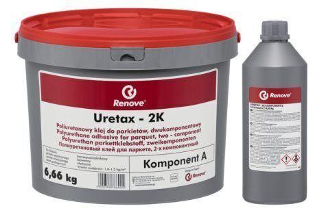 Паркетный клей Renove Uretax 2K полиуретановый клей 6,66 кг.