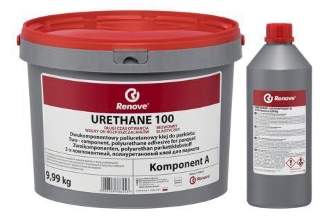 Паркетный клей Renove Urethane 100 полиуретановый клей 9,99 кг.
