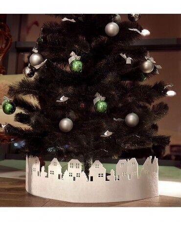 Декор подставки для новогодней елки