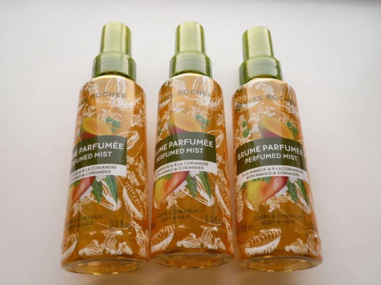 Парфюмированный спрей для тела и волос Манго-Кориандр от Ив Роше