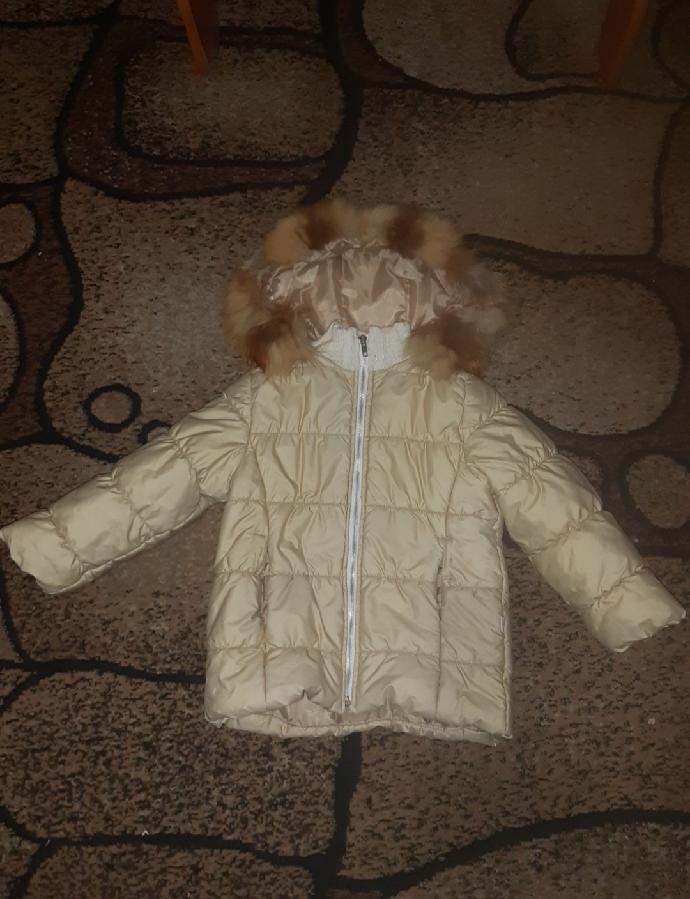 Продам куртку для девочки 5- 6 лет