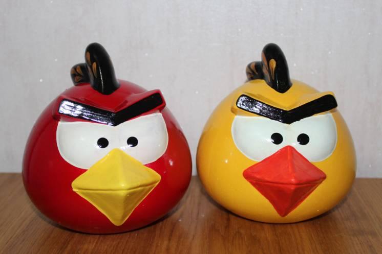 Копилка Керамическая Angry Birds Губка Боб Маквин Миньон Свинка Пепа