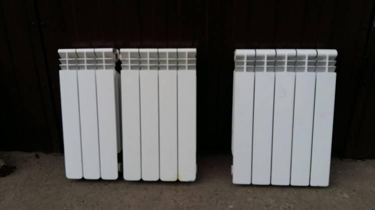 Алюминиевые радиаторы отопления б/у Италия