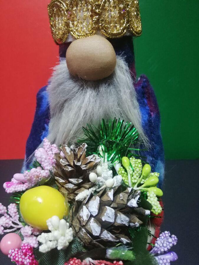 Скандинавский рождественский гном интерьерная игрушка  ручная работа
