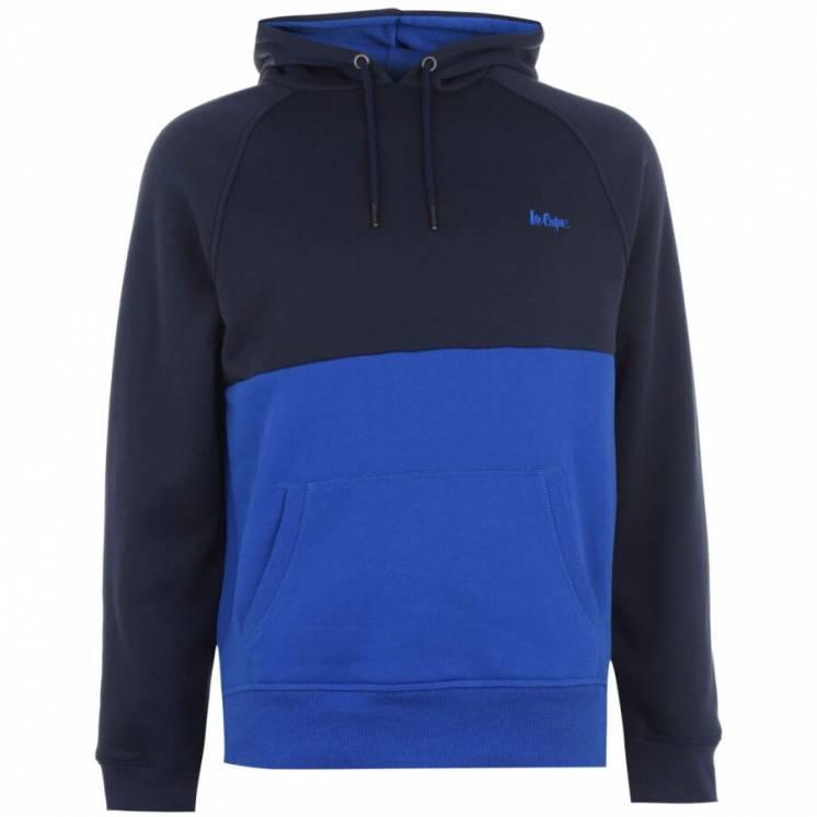 Lee Cooper худи мужская толстовка с капюшоном синяя.  Англия. Оригинал