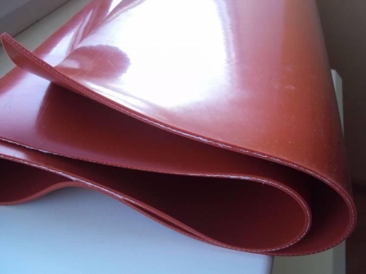 Армированный лист из силиконовой резины (температурный)