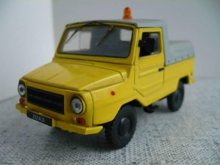 ЛуАЗ-2403 тягач «Аэрофлот» – Модель 1/43 Автомобиль на службе №39