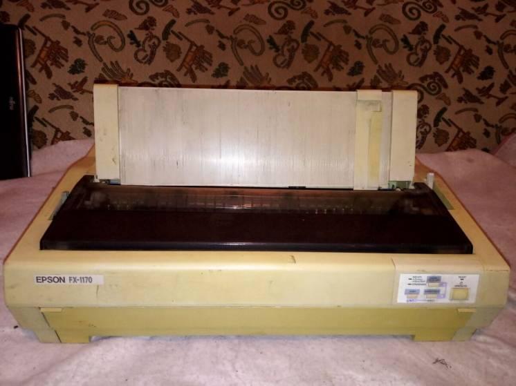 Принтер матричный А3 Epson FX-1170