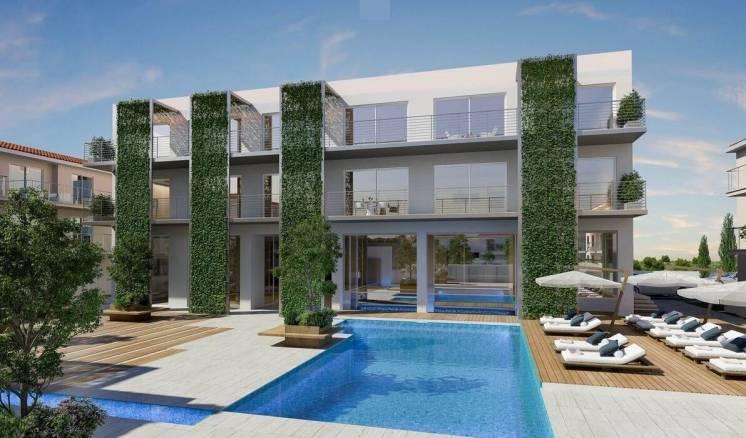 Отличная инвестиция в 1-комн. квартиру,  Гавань Протарас (Кипр)  БЕЗ %