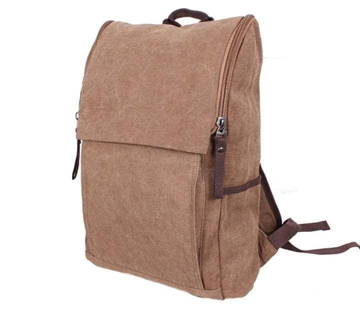 Качественный современный рюкзак 8154-2COFFEE