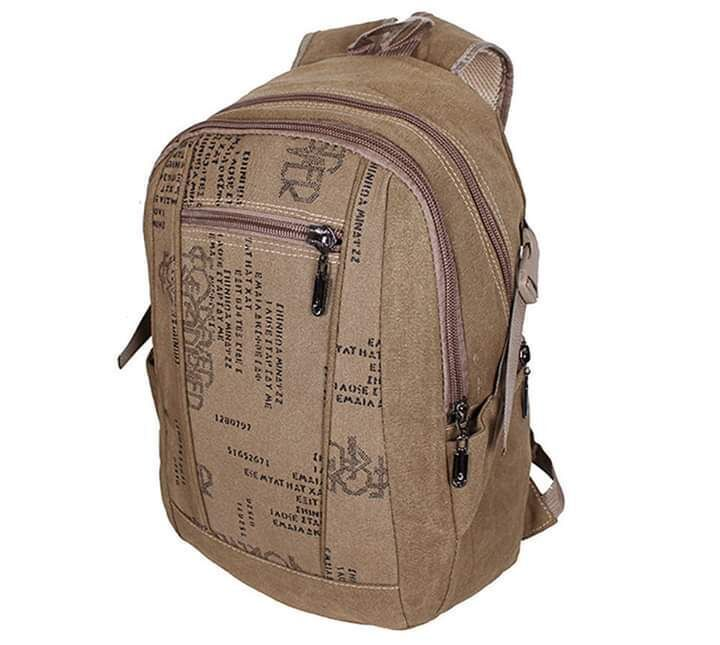 Рюкзак мужской из ткани Бежевый 01