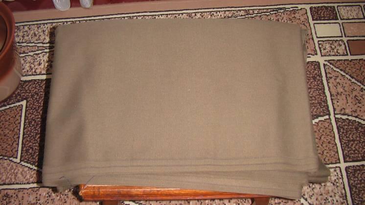 Ткань кительная (зеленая) выдавалась для пошива повседневной формы