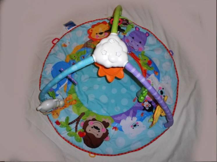 Игровой музыкальный коврик для малыша Fisher Price