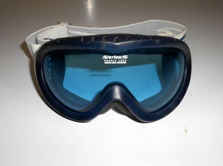 Горнолыжная лыжная маска Serious Double Lens Antifog Protection Italy